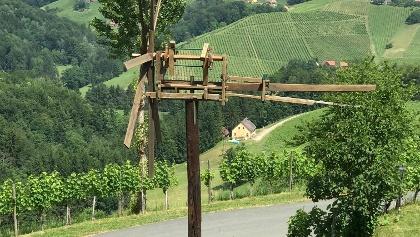Klapptest mit Aussicht am Sernauberg