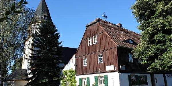 Geoportal Museum Steinarbeiterhaus und Kirche in Hohburg