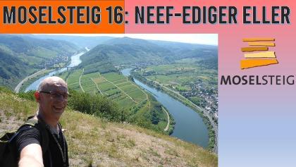 Moselsteig Etappe 16 - TODESANGST | Neef-Ediger Eller | Wandern an der Mosel | Dirk Outdoor | # 101