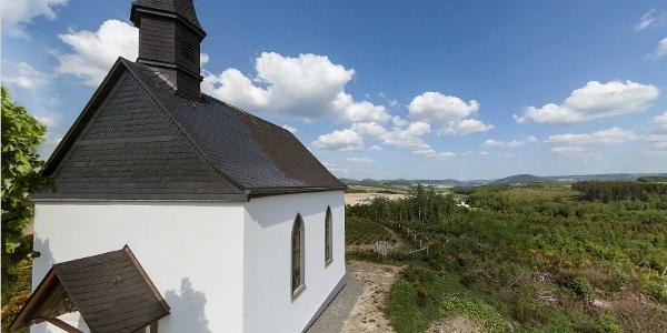 Rundblick an der Wormbacher Kreuzkapelle