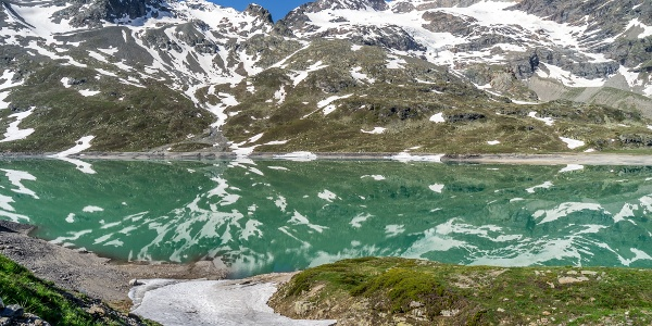 Reflections in Lago Bianco