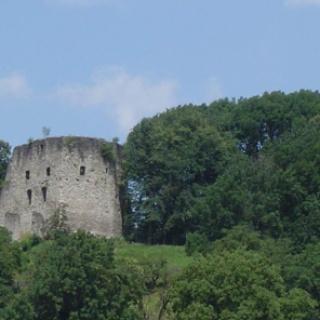 Schlins, Burgruine Jagdberg