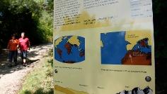 Informationstafel geologischer Lehrpfad