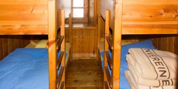 Hochstubaihütte - 4 Bett Zimmer
