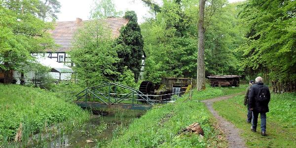 Am Ziel - Brehmsdorfer Mühle
