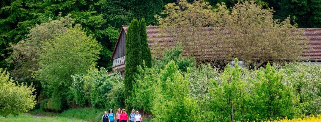 Wandern bei Leidersbach