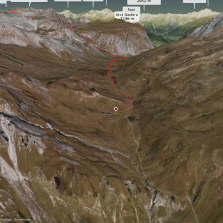 long distance hiking trail in Vinschgau: WiNi Part 4 (Schweiz)