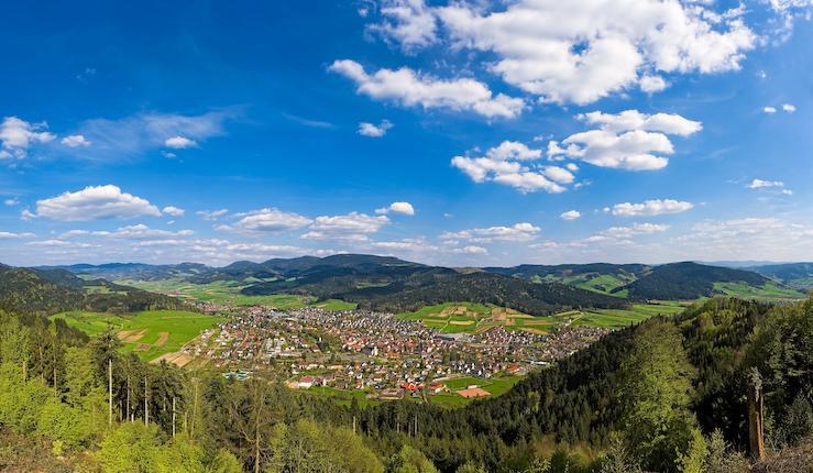 Zell a.H. / Talblick-Route