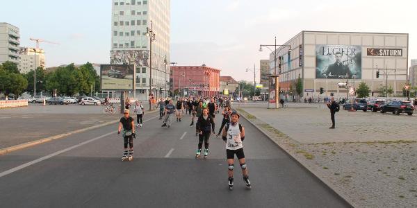 Skate by Night 14.07.