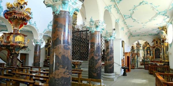 Chorherrenstift St. Michael in Beromünster.