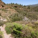 Blick zurück in den Barranco, der weiter unten erst richtig wild-romantisch wird.