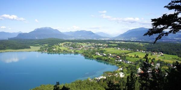 Blick auf den See von der Taborhöhe