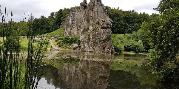 Oberer Teich und Externsteine