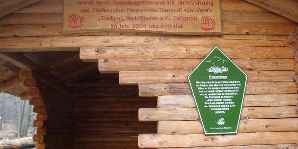 Rabenauer Grund - Rastplatz an der Planwiese