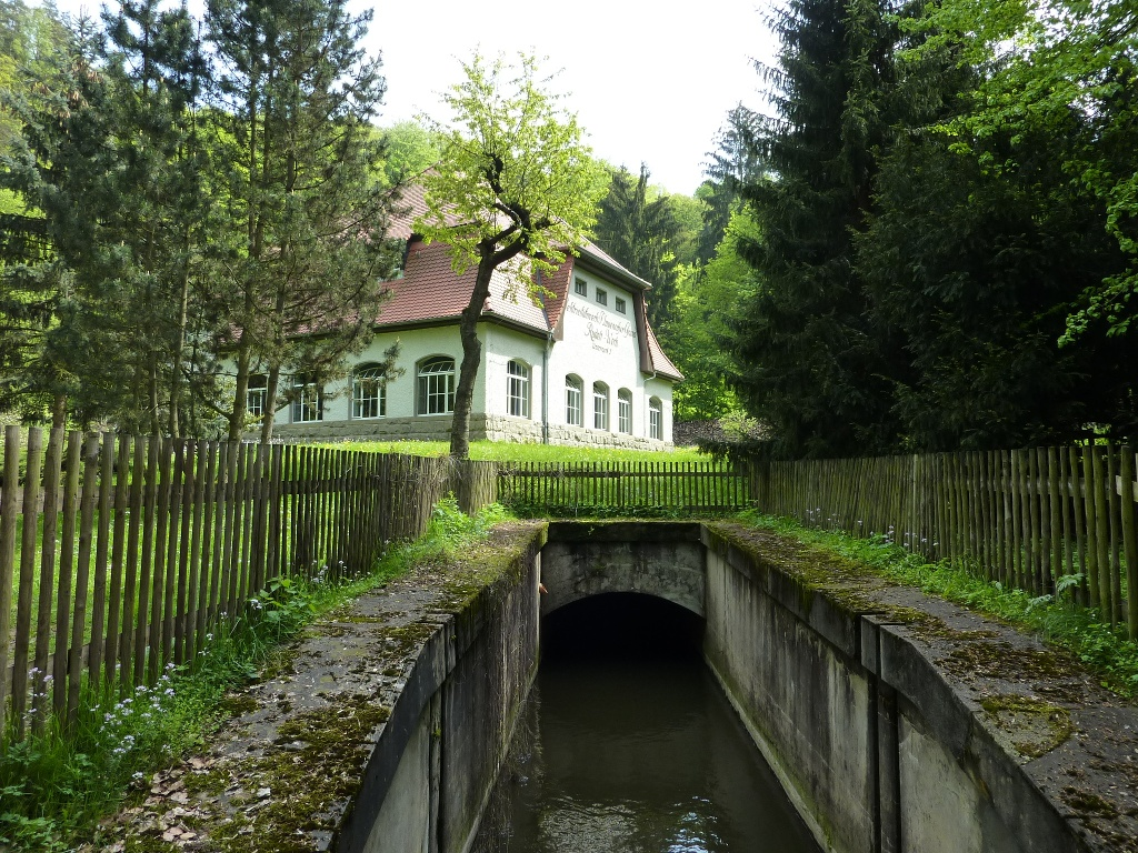 Wasserkraftwerk Rabenauer Grund