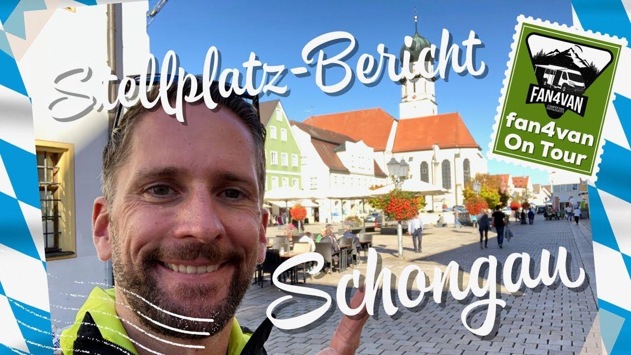 Wohnmobil Stellplatz Bericht aus Schongau - klein aber fein! ()