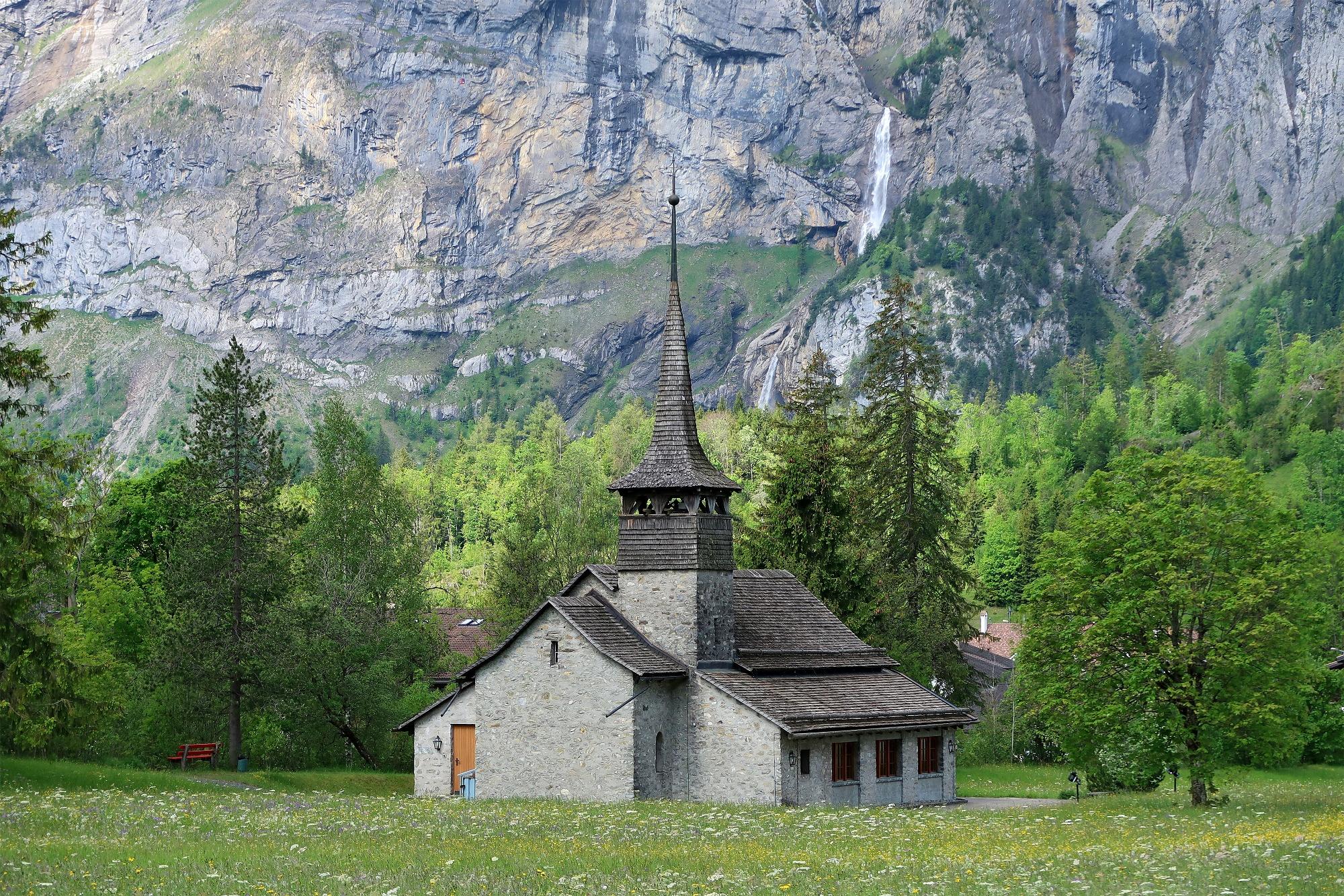 Katholische Kirche Kandersteg.