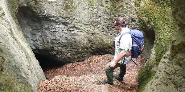 Die Geislochhöhle bei Münzinghof
