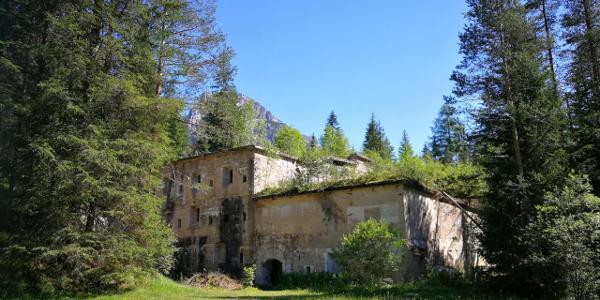 Sperrwerk im Höhlensteintal - Ausgangspunkt der Tour