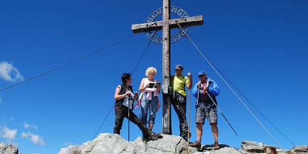 Gipfelkreuz am Reitereck