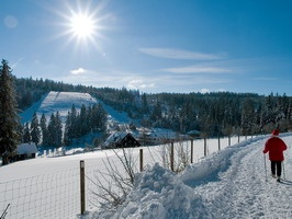 Winterwanderung über Saatschulhütte zur Kreuzle