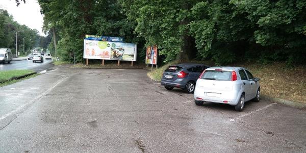 Ausgangspunkt Parkplatz in Altmünster unterhalb des Schlosses Ebenzweier. Direkt an der Bundesstraße gelegen.