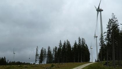 Windpark Rattener Alm