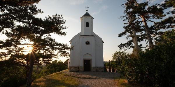 Szent Mihály Hill and Chapel, Vonyarcvashegy