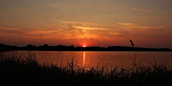 Abendstimmung am Gartower See