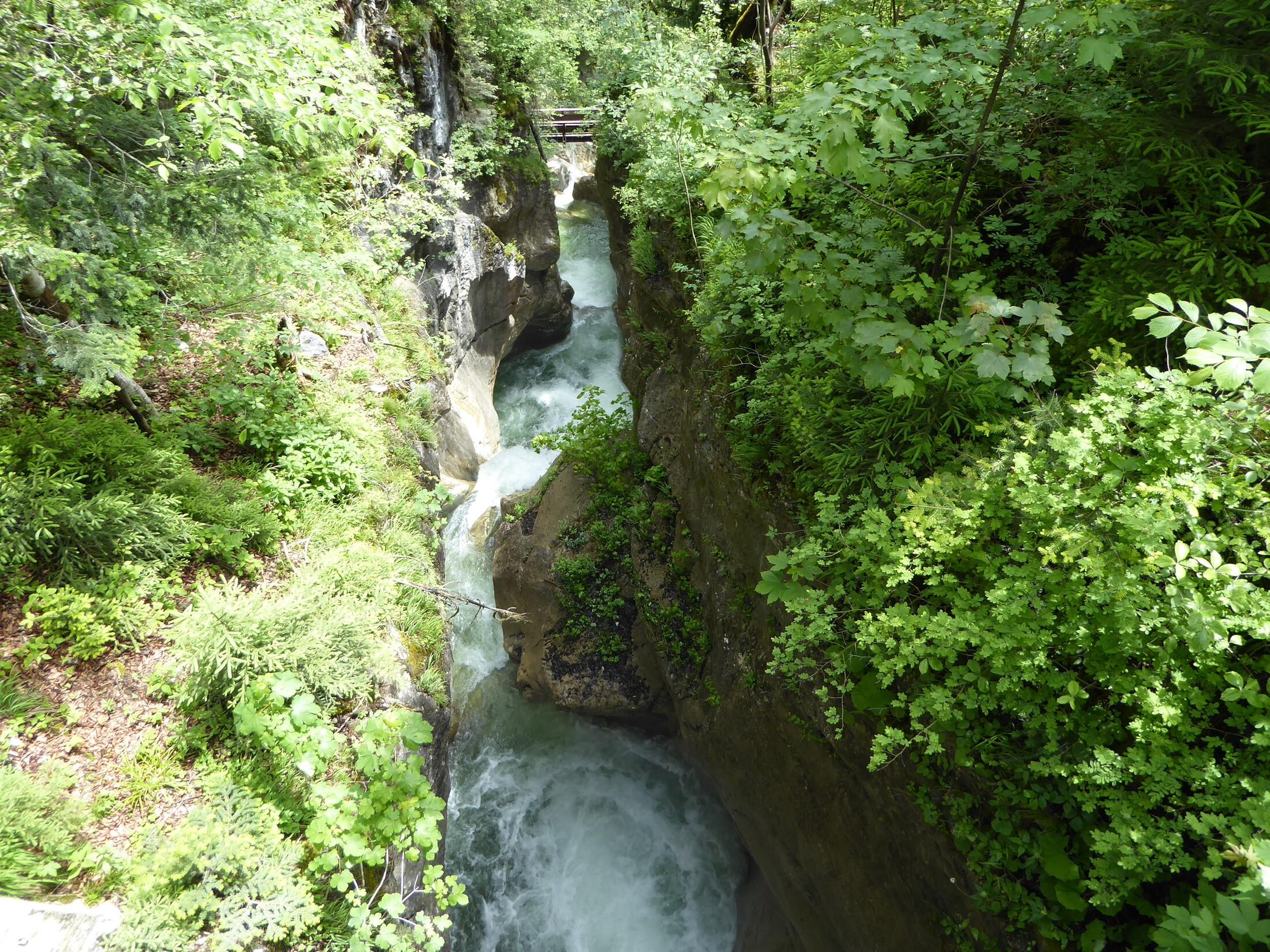 Tatzelwurm Wasserfall