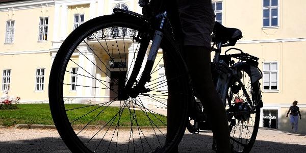 Mit dem Rad zum Schloss Liechtenstein