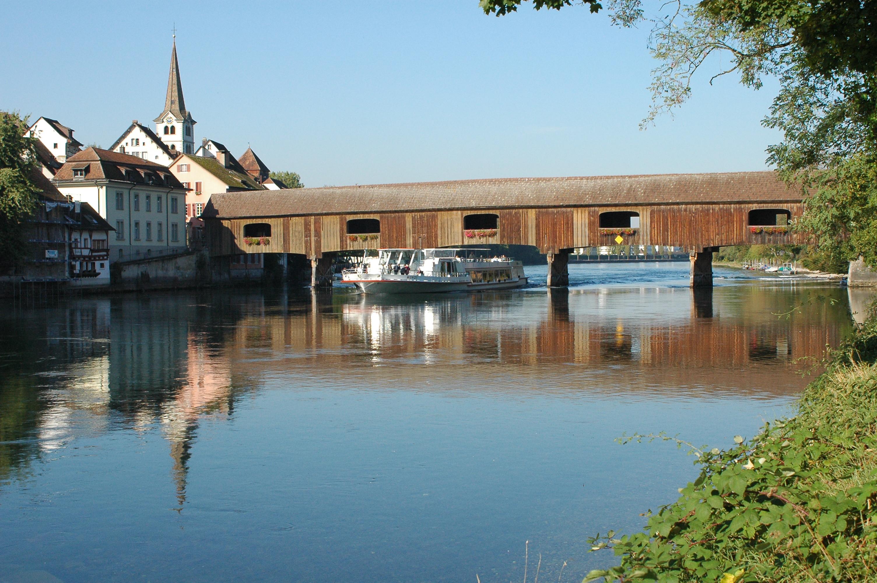 Rheinbrücke zw. Gailingen und Diessenhofen (CH)