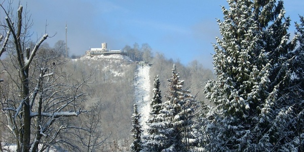 Blick auf den Hausberg Foto: Kur und Touristikbetrieb Bad Lauterberg
