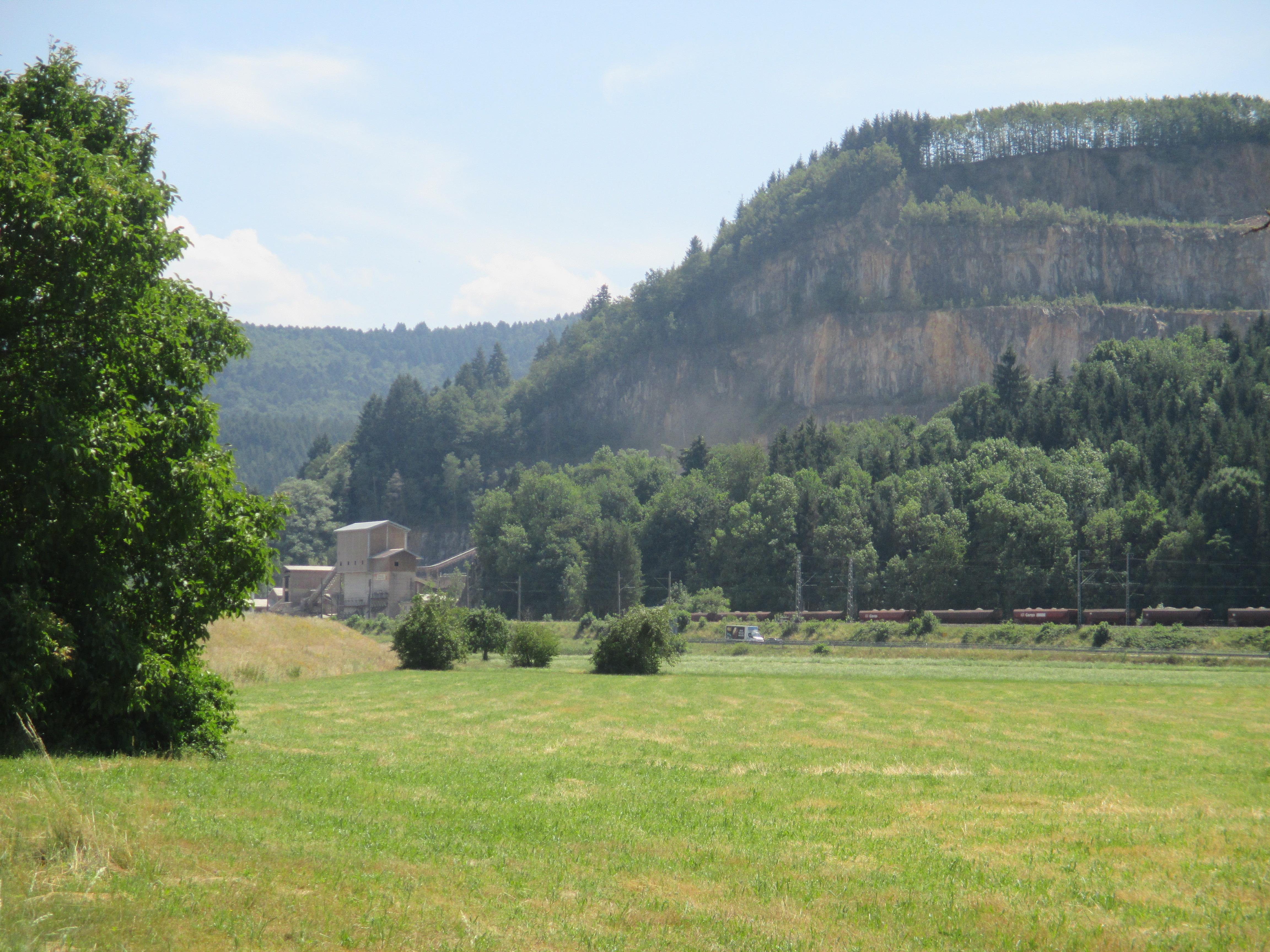 Steinbruch am Artenberg in Steinach