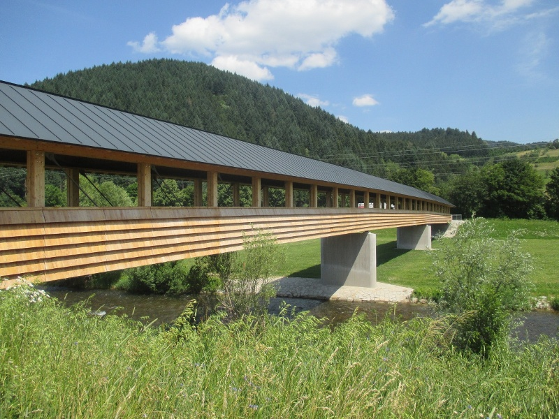 Bollenbacher Steg, 2018 neu erbaut