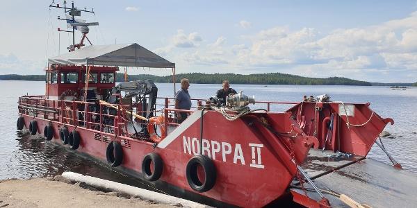 Norppa II kuljettaa sinut Hurissalosta Lintusaloon, Nestorinranta