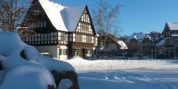 Winter in Ilsenburg Foto: Tourismus GmbH Ilsenburg