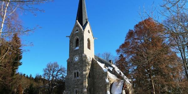 Schierker Kirche im Winter Foto: Wernigerode Tourismus GmbH