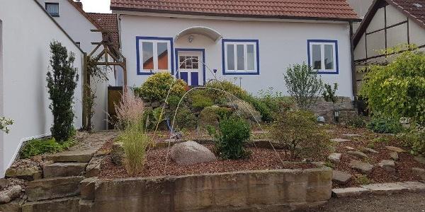 """Ferienhaus """"Auf dem Wall"""", außen"""