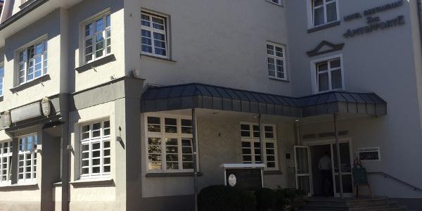Hotel Zur Amtspforte, Eingang