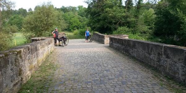 Die Brücke kurz vor Meisenheim - quasi das Tor zur Tour