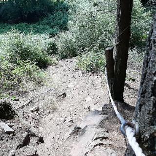 Abstieg Adelsfelsen