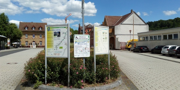 Informationstafeln in Lauterecken