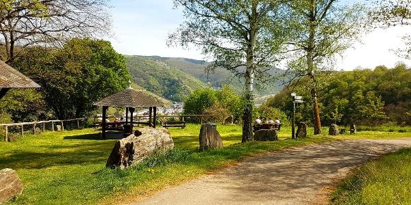 Traumschleifchen Pfalzblick - Der Pfalzblick