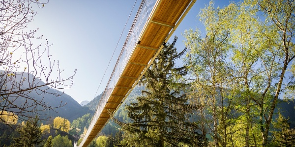 Rundwanderung über die Goms-Bridge nach Chäserstatt