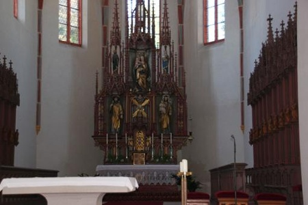 Bamberg - Altar der Jakobskirche