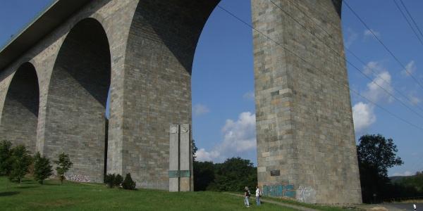 Elstertalbrücke bei Pirk