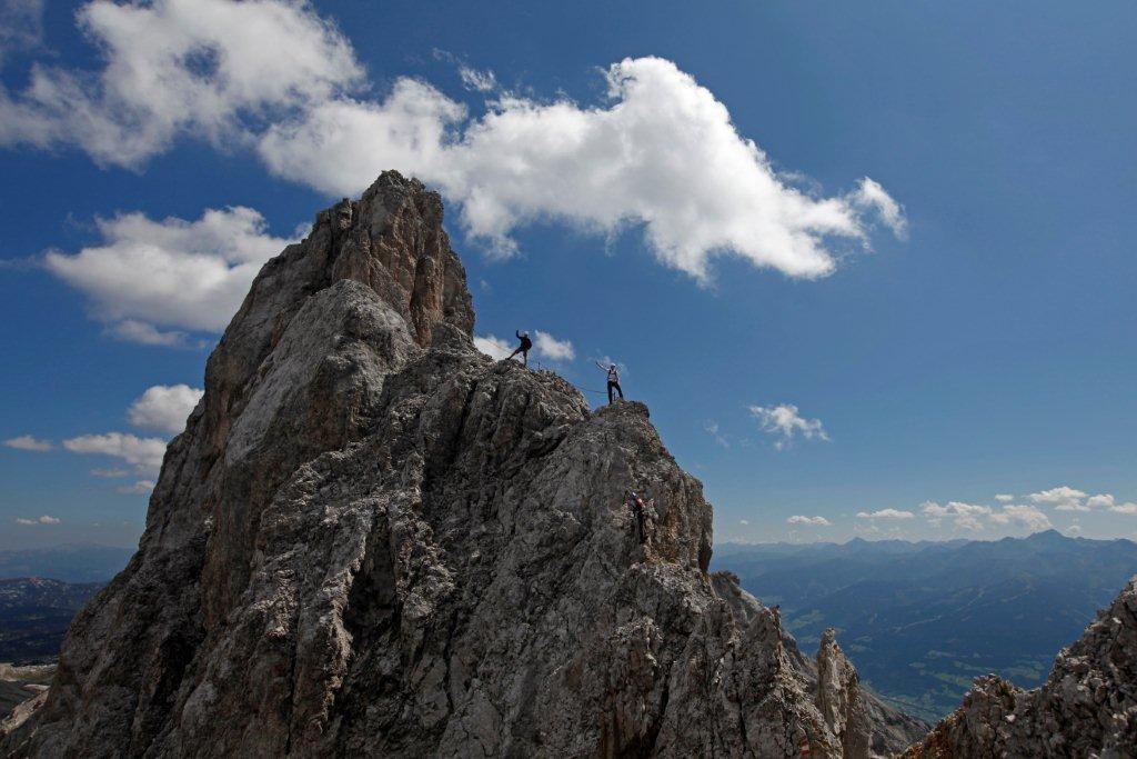 Klettersteig Ramsau : Heidi steig klettersteig bergsteigen