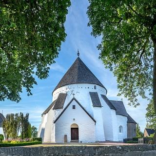 Østerlars Kirke - Østerlars Rundkirke Bornholm