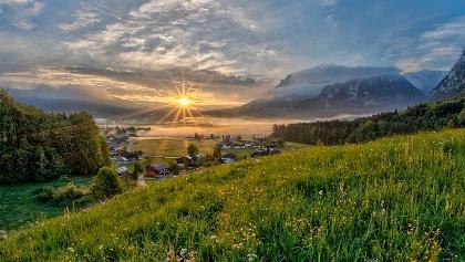 Inzell - Idylle in den Bayerischen Alpen